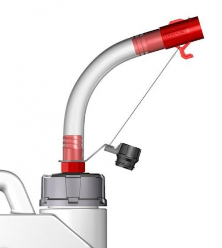 Hose Bender Spout
