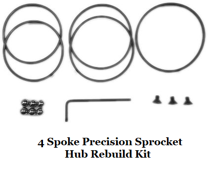 Precision Sprocket Hub Rebuild Kit