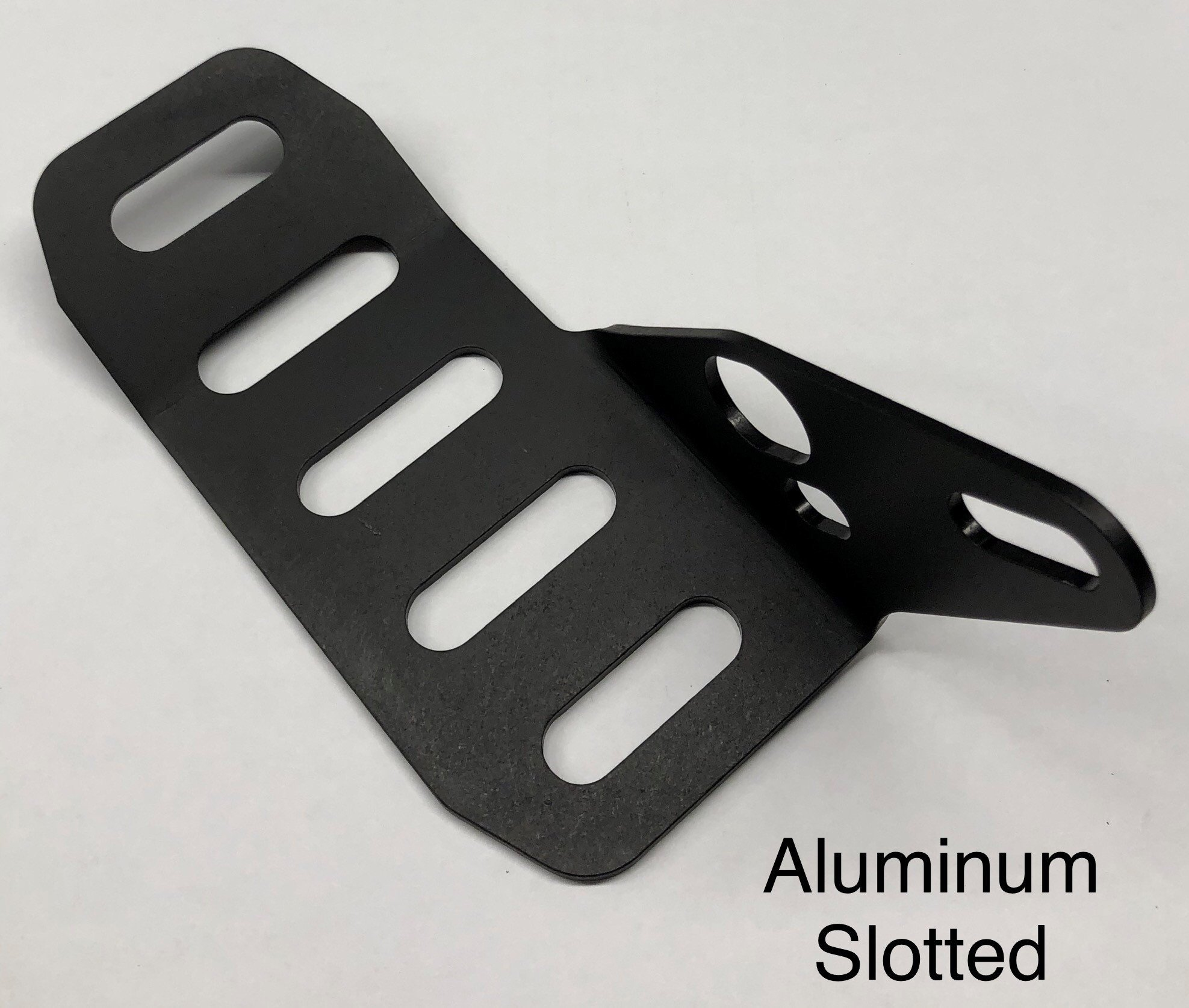 Aluminum slotted rotor guard